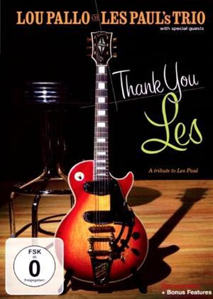 Rent Lou Pallo: Thank You Les: A Tribute to Les Paul Online DVD Rental