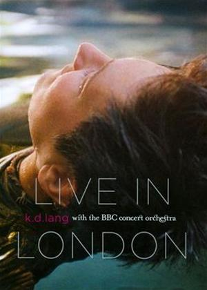 Rent Kd Lang with the BBC Concert Orchestra: Live in London Online DVD Rental