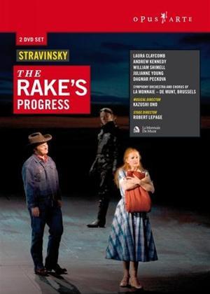 The Rake's Progress: Theatre Royal De La Monnaie, Brussels Online DVD Rental