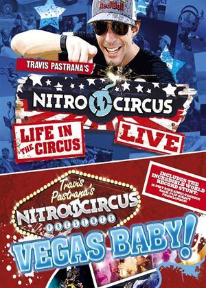 Rent Travis Pastrana's Nitro Circus Presents: Vegas Baby!/Nitro Circus Live: Life in the Circus Online DVD Rental