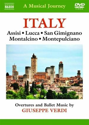 Rent A Musical Journey: Italy: Assisi, Lucca, San Gimignano Montalcino, Montepulciano Online DVD Rental
