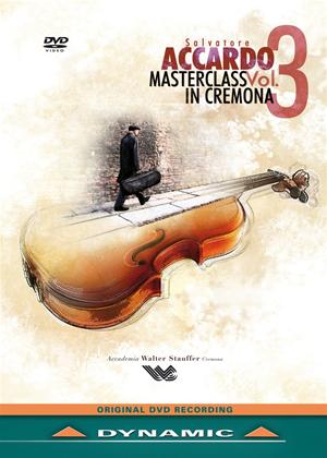 Rent Salvatore Accardo: Masterclass in Cremona: Vol.3 Online DVD Rental