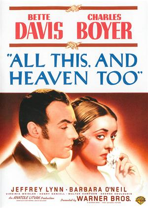 All This, and Heaven Too Online DVD Rental