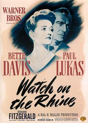 Watch on the Rhine Online DVD Rental