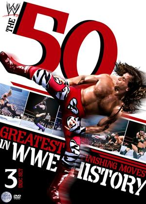 WWE: The 50 Greatest Finishing Moves in WWE History Online DVD Rental