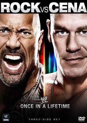 Rent WWE: Rock Vs Cena: Once in a Lifetime Online DVD Rental