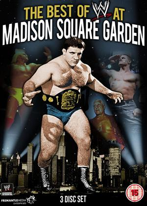 WWE: The Best of WWE at Madison Square Garden Online DVD Rental