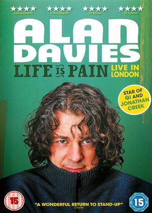 Alan Davies: Life Is Pain: Live in London Online DVD Rental