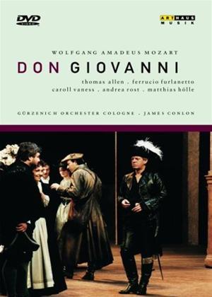 Rent Don Giovanni: Opernhaus, Koln (Conlon) Online DVD Rental