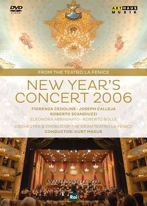 New Year's Concert: 2006: Orchestra Del Teatro La Fenice (Masur) Online DVD Rental