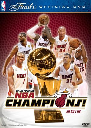Rent NBA Champions: 2012-2013: Miami Heat Online DVD Rental