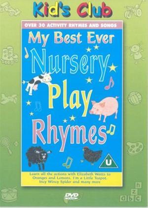 Rent My Best Ever Nursery Play Rhymes Online DVD Rental