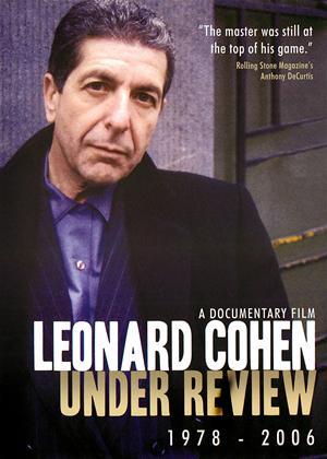 Leonard Cohen: Under Review: 1978-2006 Online DVD Rental