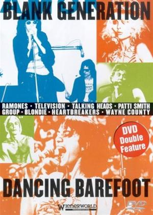 Rent Blank Generation/Dancing Barefoot Online DVD Rental