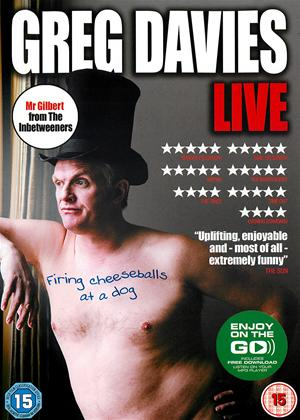 Greg Davies: Firing Cheesballs at a Dog: Live Online DVD Rental