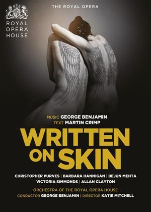 Written on Skin: The Royal Opera (Benjamin) Online DVD Rental