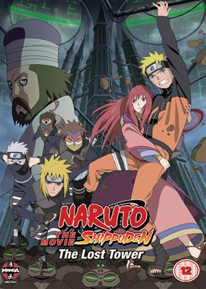 Rent Naruto Shippuden: The Movie 4: The Lost Tower Online DVD Rental