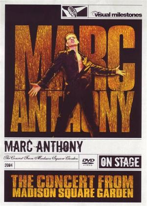 Marc Anthony: The Concert from Madison Square Garden Online DVD Rental