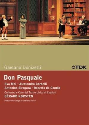 Don Pasquale: Teatro Lirico Di Cagliari (Korsten) Online DVD Rental