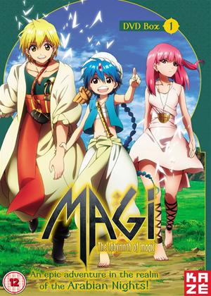 Rent Magi: The Labyrinth of Magic: Series 1: Part 1 Online DVD Rental