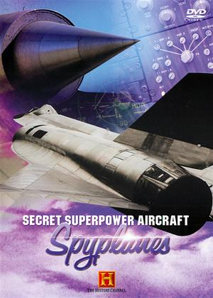 Secret Superpower Aircraft: Spyplanes Online DVD Rental