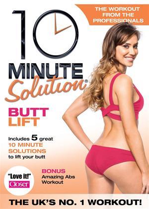 Rent 10 Minute Solution: Butt Lift Online DVD Rental