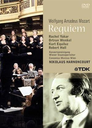 Rent Mozart: Requiem - Vienna Staatsopernchor (Harnoncourt) Online DVD Rental
