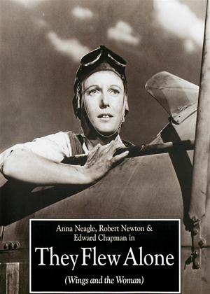 Rent They Flew Alone (aka Wings and the Woman) Online DVD Rental