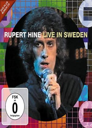 Rent Rupert Hine: Live TV Show Sweden Online DVD Rental