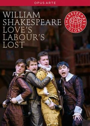 Love's Labour's Lost: Globe Theatre Online DVD Rental