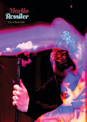 Martin Rossiter: Live at Bushhall Online DVD Rental