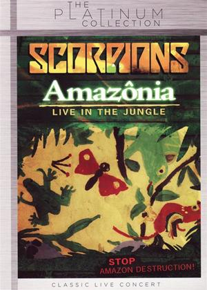 Rent Scorpions: Amazonia: Live in the Jungle Online DVD Rental