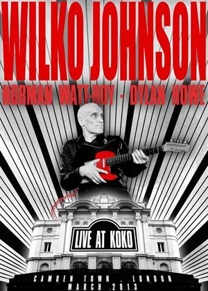 Wilko Johnson: Live at Koko, Camden Town, London Online DVD Rental