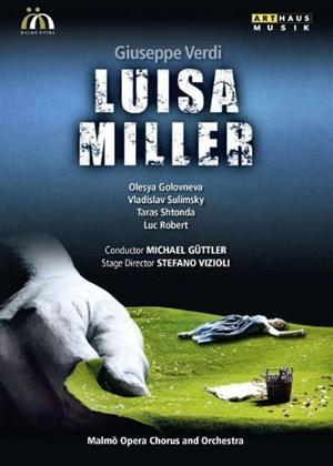 Rent Luisa Miller: Malmö Opera (Güttler) Online DVD Rental