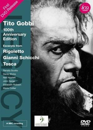 Rent Tito Gobbi: 100th Anniversary Edition: Excerpts from Rigoletto/Gianni Schicchi/Tosca Online DVD Rental
