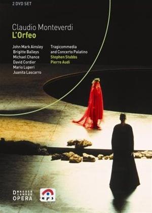 Rent L'Orfeo: De Nederlandse Opera (Stubbs) Online DVD Rental