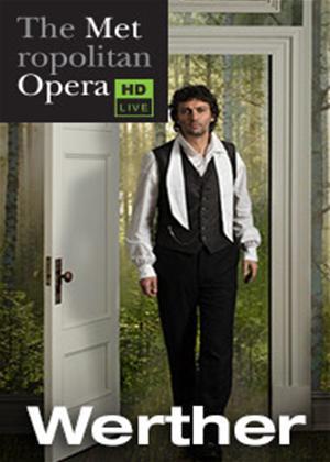 Werther: Metropolitan Opera (Altinoglu) Online DVD Rental