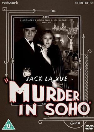 Murder in Soho Online DVD Rental