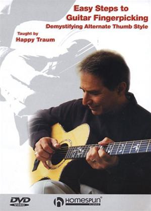Easy Steps to Guitar Fingerpicking Online DVD Rental