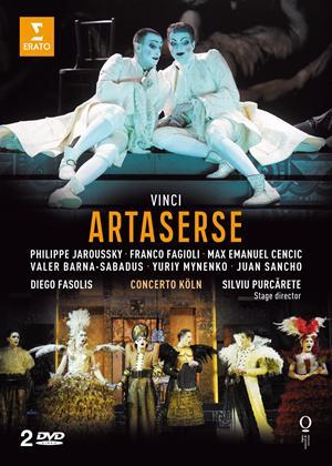 Rent Artaserse: Opéra National De Lorraine (Fasolis) Online DVD Rental