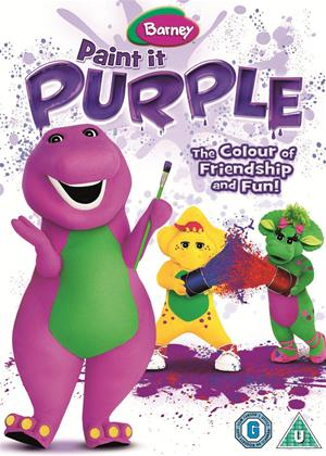 Rent Barney: Paint It Purple Online DVD Rental