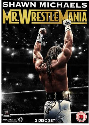 WWE: Shawn Michaels: Mr. WrestleMania Online DVD Rental