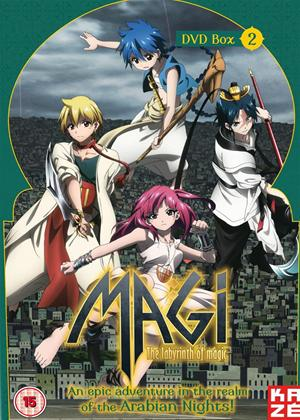 Rent Magi: The Labyrinth of Magic: Series 1: Part 2 Online DVD Rental
