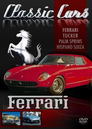 Rent Classic Cars: Ferrari Online DVD Rental