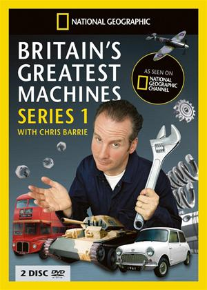 Rent Britains Greatest Machines: Series 1 Online DVD Rental