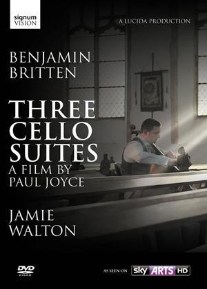Rent Benjamin Britten: Three Cello Suites Online DVD Rental
