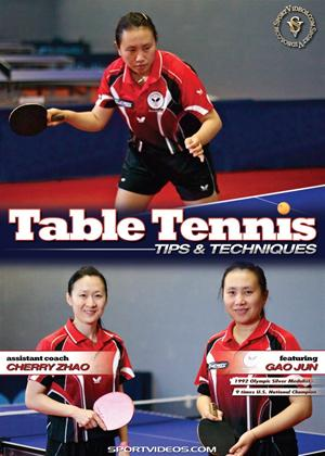 Table Tennis Tips and Techniques Online DVD Rental
