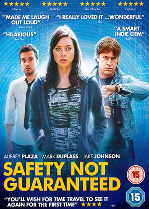 Safety Not Guaranteed Online DVD Rental