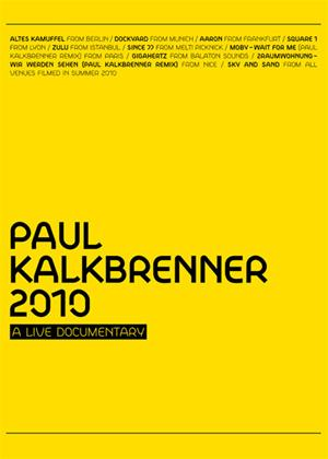 Paul Kalkbrenner: 2010: A Live Documentary Online DVD Rental