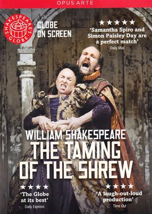The Taming of the Shrew: Shakespeare's Globe Online DVD Rental